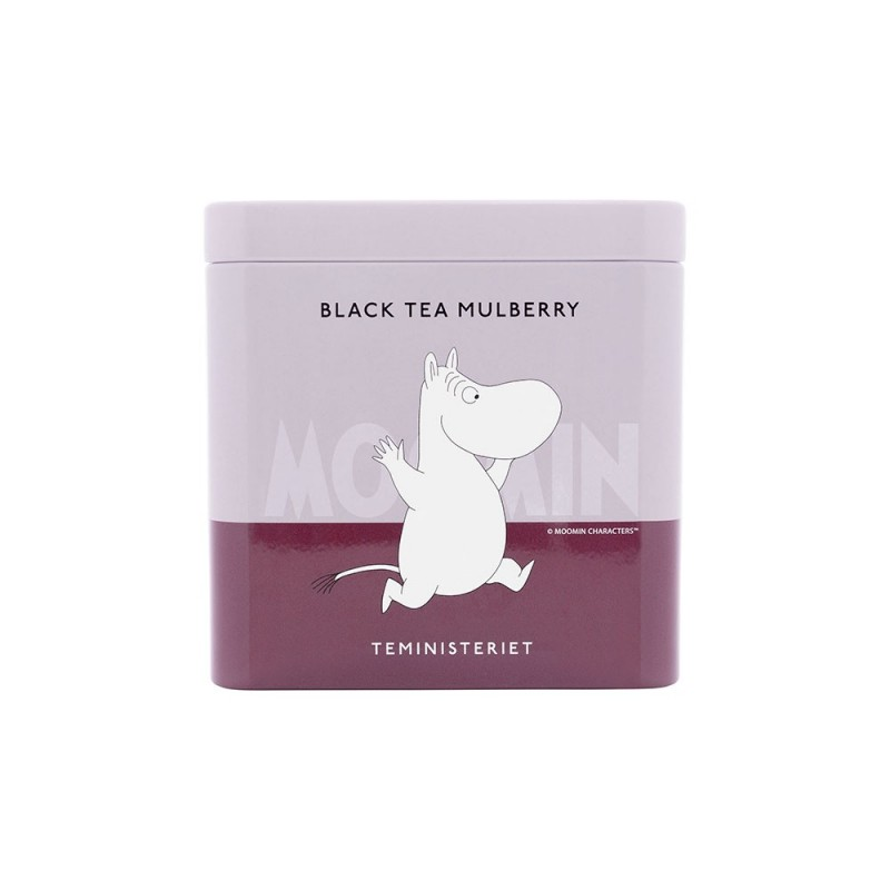 Moomin Black Tea Mulberry Tin