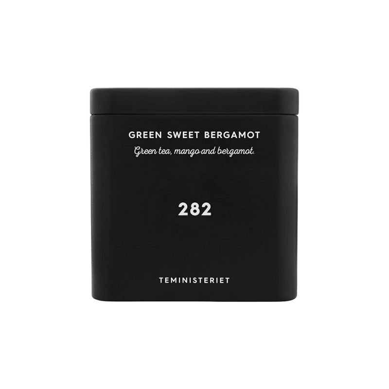 282 Green Sweet Bergamot Tin