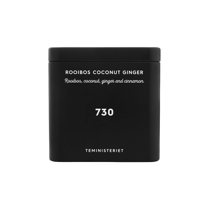 730 Rooibos Coconut Ginger Tin