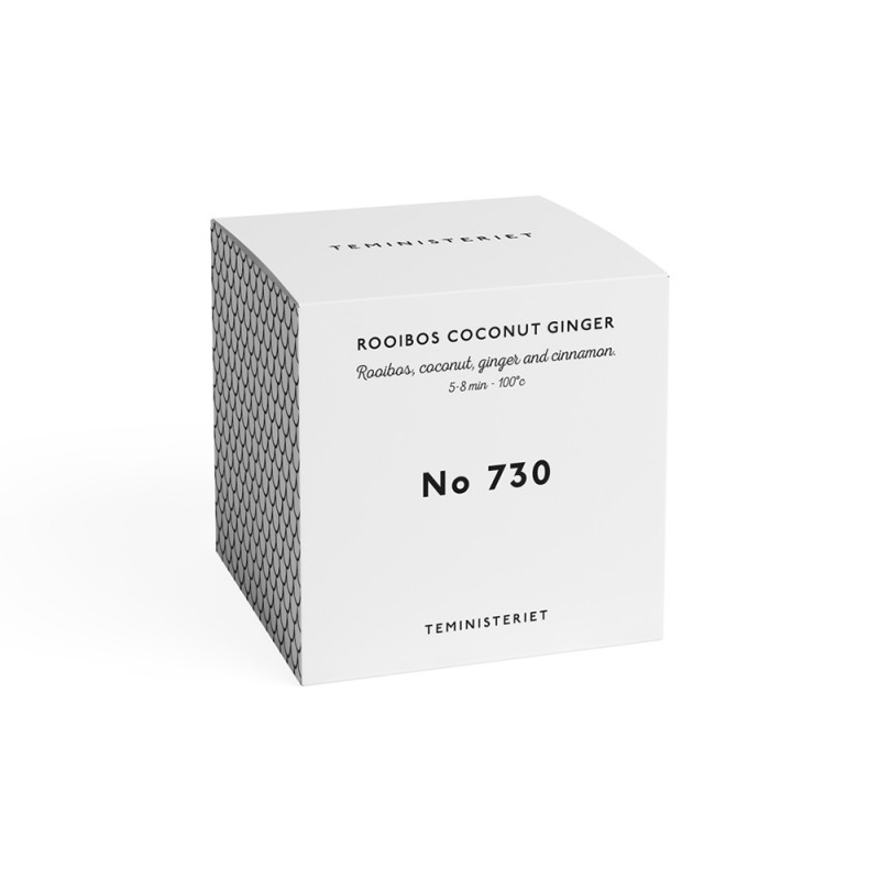 730 Rooibos Coconut Ginger Box