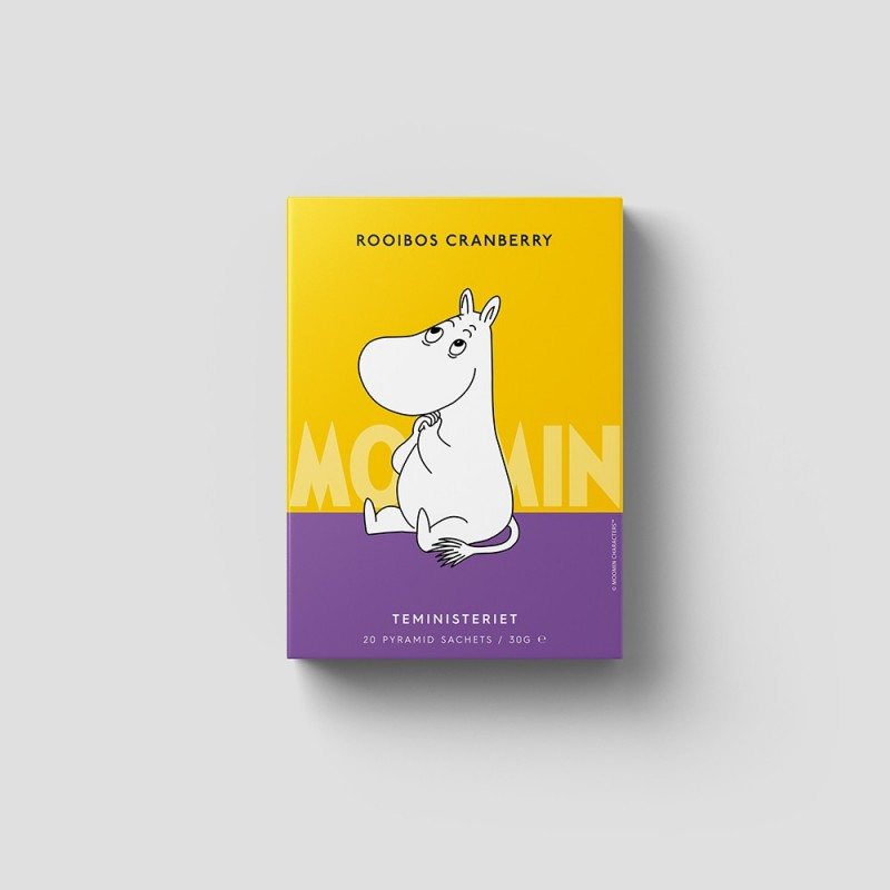 Moomin Rooibos Cranberry...