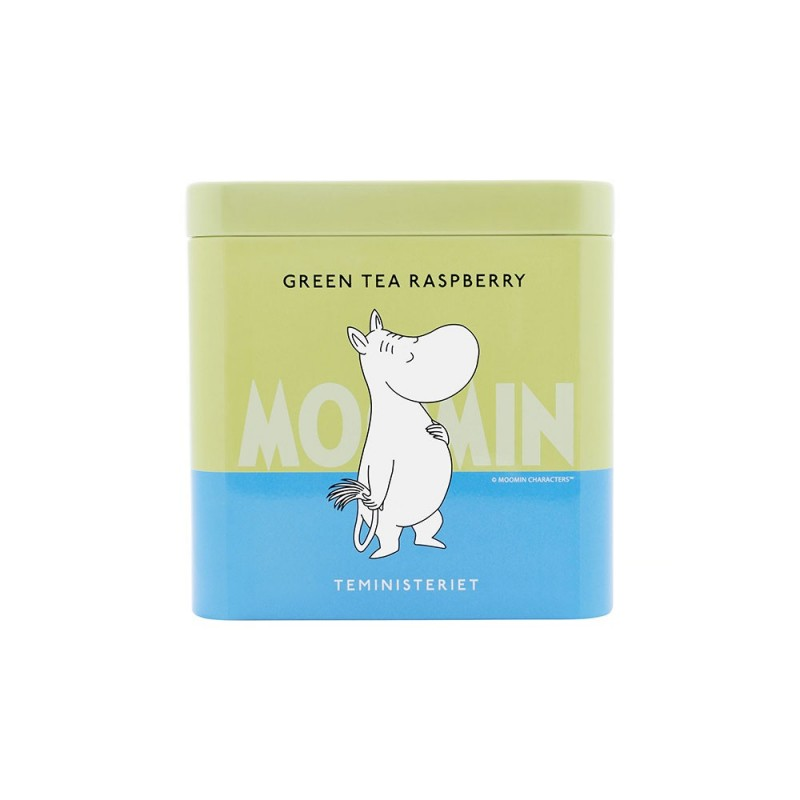 Moomin Green Tea Raspberry Tin